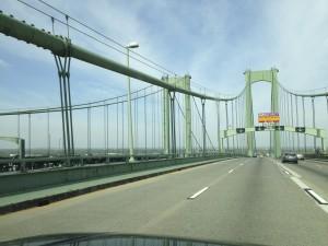 Crossing the Delaware Memorial Bridge